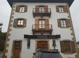Hostal Ansonea, Bera (Near Vera de Bidasoa)