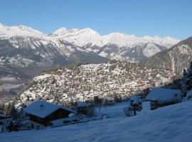 Chalet familial au cœur des alpes, Chalais (Vercorin yakınında)