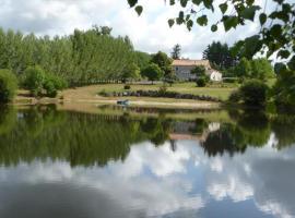 L'Etanchon - Chambres D'Hotes, Écuras (рядом с городом Bussière-Badil)