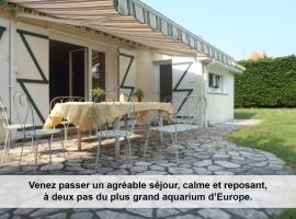 Au cèdre bleu, Saint-Martin-Boulogne (рядом с городом Echinghen)