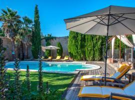 La suite climatisée, terrasse, parc, piscine mer proche, Sérignan