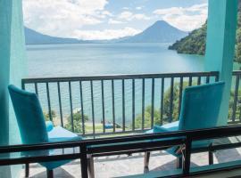 Beautiful Apartments by the Lake, Panajachel (рядом с городом San Jorge La Laguna)