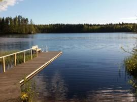 Private Lakeside Holiday Property in Nature, Канкаанпяа (рядом с городом Venesjärvi)