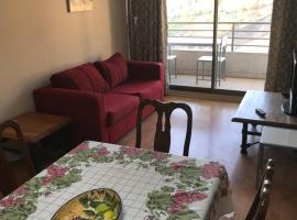 Apartamento Santos Dumont, Santiago (Lo Contador yakınında)