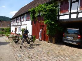 Feriengaleriewohnung Im Denkmal Stilvoll-Komfortabel Baubiologisch, Erlenbach (Busenberg yakınında)
