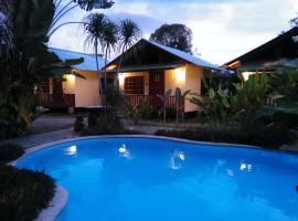 Hotel Brunka Lodge, Palmar Norte (Caracol yakınında)