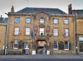 The George Hotel, Crewkerne (рядом с городом Hinton Saint George)