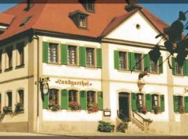 Wagners Landgasthof zum Ross, Feuchtwangen (Vehlberg yakınında)