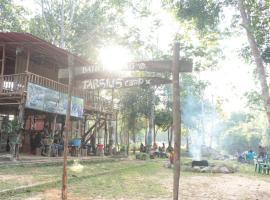Batu Mentas Eco Lodge, Begantung (рядом с городом Manggar)