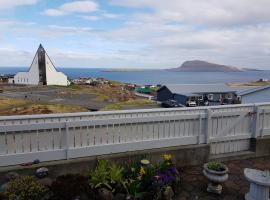 Beautiful house in Tórshavn with a great view