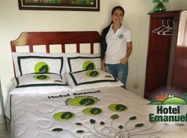 Hotel Emanuel, Agua Buena (Italcancori yakınında)