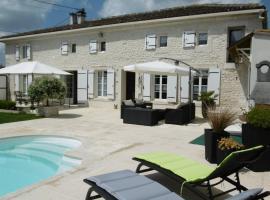 Chambre d'hôtes proche de SAINTES 17/ COGNAC 16, Saint-Sever (рядом с городом Домпьер-сюр-Шарант)