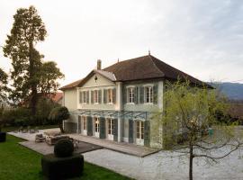 Maison Bambou, Chindrieux (рядом с городом Серьер-ан-Шотань)