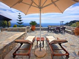 Traditional Cretan house with incredible views