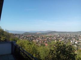 Panoramic terrace in the hills