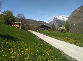 Chalet di Montagna, Gignod (Roisan yakınında)