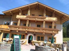 Alpengasthof Almrose im Heutal, Unken