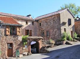 Grand gite Vallee du Tarn, Broquiès (рядом с городом Saint-Izaire)