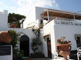La Sirenetta Park Hotel, Стромболи