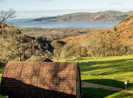 Bwlcheinion Sea View Glaming, Machynlleth (рядом с городом Eglwys-fach)
