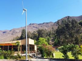Cabañas El Maiten, Vicuña (El Molle yakınında)