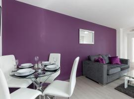 Smartapart Serviced Apartments Loughborough, Лафборо (рядом с городом Willoughby on the Wolds)