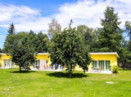 Bungis Ferienhäuser am Grimnitzsee ***Karree Haus 1, Joachimsthal (Althüttendorf yakınında)
