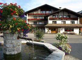 Hotel Gasthof Löwen, Lingenau (Langenegg yakınında)