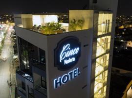 Hotel Cinco Monteria, Montería (Los Manguitos yakınında)