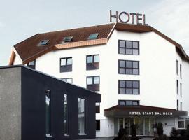 Hotel Stadt Balingen, Balingen (Erlaheim yakınında)