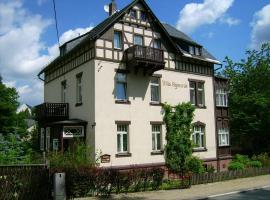 """Pension & Ferienwohnung """"Villa Agnesruh"""", Bad Elster (Aš yakınında)"""