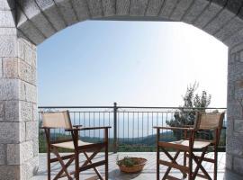 The balcony of Mani, Leptíni
