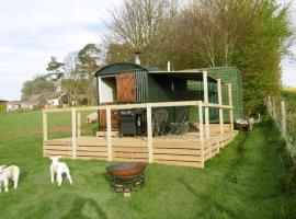 Shepherd's Hut, Blandford Forum (рядом с городом Hilton)