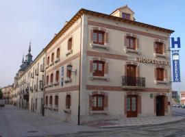 Hospederia el Fielato, El Burgo de Osma (рядом с городом San Esteban de Gormaz)