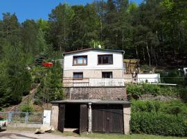 4-pers Bungalow Ziegelrode Ahlsdorf Sud-Harz 2/1 kap Links, Ahlsdorf (Tæt på Lutherstadt Eisleben)