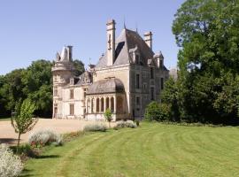 Château de la Court d'Aron, Saint-Cyr-en-Talmondais (рядом с городом Le Champ-Saint-Père)
