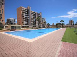 CasaTuris Playa, piscina y parking en Residencial San Juan SJ102