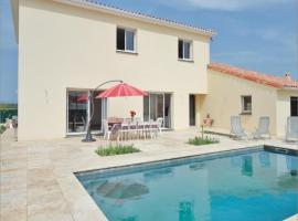 Five-Bedroom Holiday Home in Roujan, Roujan