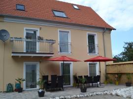 Ferienhaus Pfaffe EG, Traunstein (Aiging yakınında)