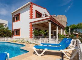 Casa en Ibiza, vistas Dalt Vila, Ибица (рядом с городом Puig D'en Valls)