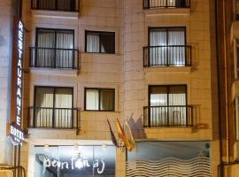 Hotel Restaurante Pontiñas, Лалин (рядом с городом А-Пена)