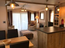 New Forest holiday lodge