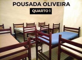 Pousada Oliveira, Cachoeira Paulista (Canas yakınında)