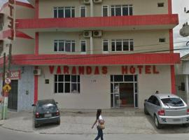 Varandas Hotel, União dos Palmares (Murici yakınında)