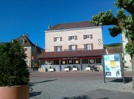 Hôtel de la Poste, Pouilly-en-Auxois (рядом с городом Beurizot)