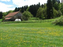 Gîte A Combray, Arc-sous-Cicon (рядом с городом La Chaux)