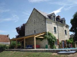 Maison De La Loire, Шинон (рядом с городом Cinais)