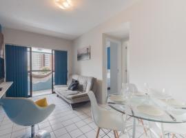 PIP201 Agradável flat em Boa Viagem, até 4 pessoas, Recife (Boa Viagem yakınında)