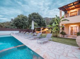 Beach House Villa Apraos Kalamaki Corfu, Perítheia (рядом с городом Апраос)