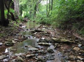 The Sugar Creek Retreat, Garfield